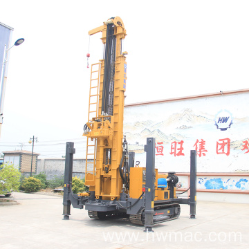 500M Hard Rock Geology Crawler Water Well Drilling Rig